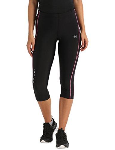 Ultrasport Pantalones pirata de correr para mujer con efecto de compresión y...