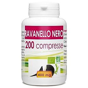 Ravanello Nero - Box di 200 compresse da 400 mg