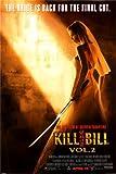 Kill Bill 2UMA Sword Film Poster–Rare New 24x 36