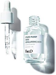Face D | Pure Plump, Sérum à l'Acide Hyaluronique HA4 à Effet Raffermissant Immédiat, 3