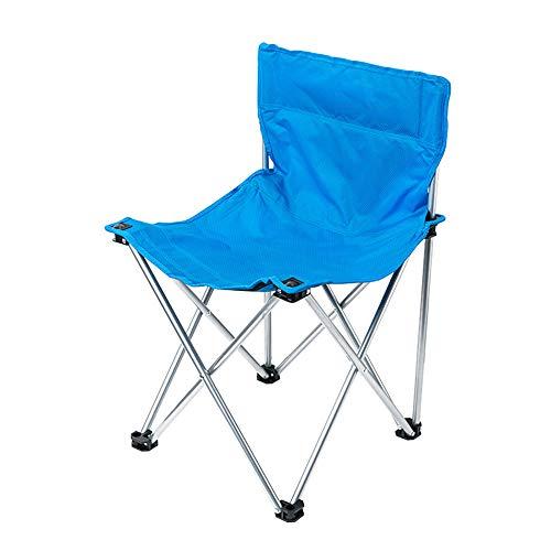 DEI QI Chaise Pliante d'extérieur, Tabouret Pliant, Tabouret de Pique-Nique en Toile, Ultra léger, Polyvalent, Alliage d'aluminium (Size : L)