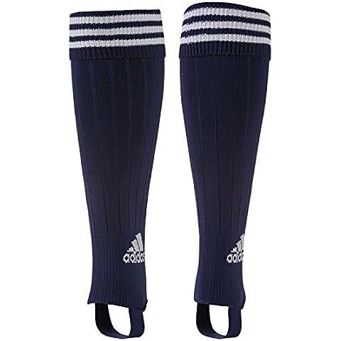 3strisce ADIDAS Staffa da calcio calze sportive, Uomo, Navy, 8.5-10 UK / 43-45 EU - 3 Strisce