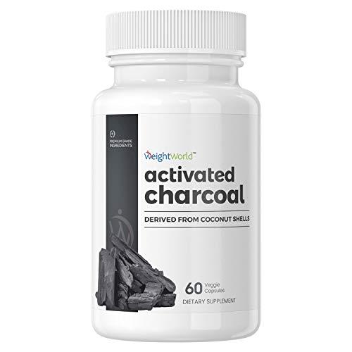 Carbón Activado - Suplemento Para Desintoxicar Y Limpiar El Organismo Y El Sistema Digestivo -...
