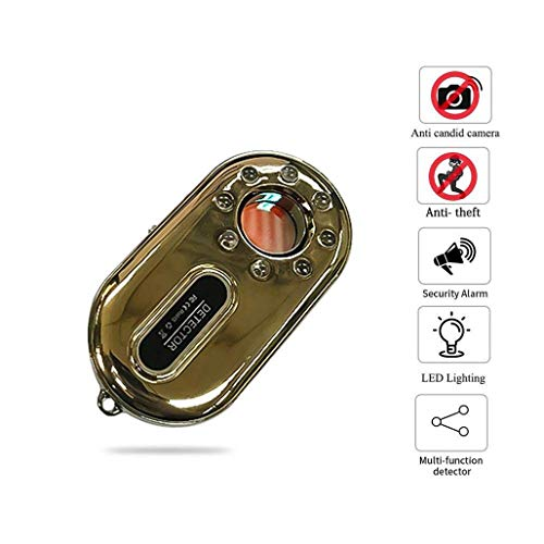 HWENJ Anti-Spion Versteckter Kamera-Detektor,Drahtloser Signal-Scanner des Rf-Wanzen-Detektors
