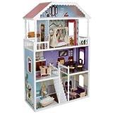 Perfecto Kidkraft Savannah Casa de muñecas Con Catorce Piezas De Tradicional Muebles (Para 3 Años & Encender)