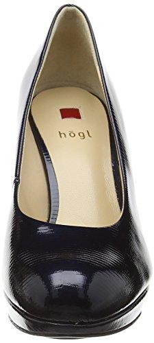 Högl Court, Semelle compensée et talons femme Bleu (3500 Blue)