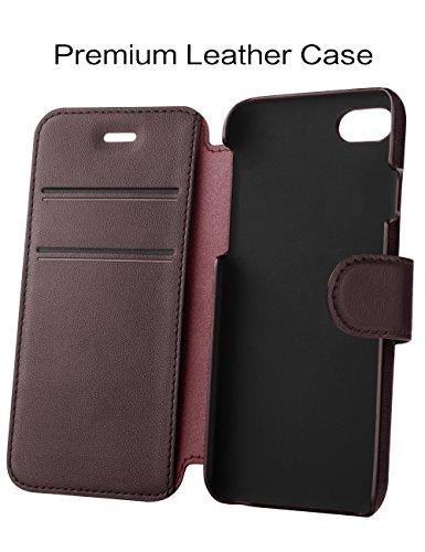 Taken, custodia a portafoglio per iPhone 7 - 02 Caffè