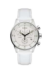 Davosa Damen-Armbanduhr Vireo Analog Leder weiß 16754515