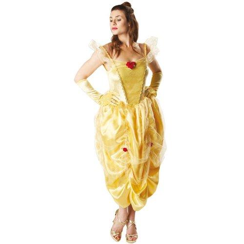 Rubie's Disney Damen Kostüm die Schöne Belle Deluxe, -