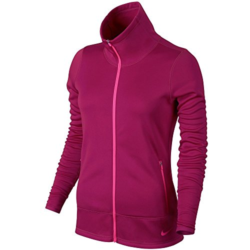 Nike Thermal Full Zip Golf Jacke 2015 Damen Sport Pink/Rosa Pow X-Small (Golf Jacke Zip)
