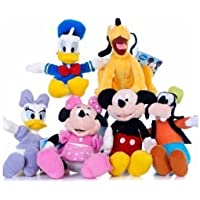 """Mickey Mouse Clubhouse Plush 8"""" - Goofy"""