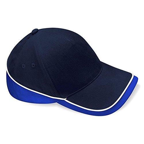 Beechfiel - Casquette 100% coton - Adulte unisexe - Navy / royal blue