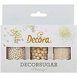 Decora Set Mini Perlas y Perlas de Azúcar, 80 g
