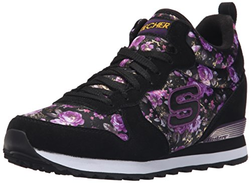 Skechers OG 85 Hollywood Rose, Damen Sneakers, Schwarz (BKPR), 40 EU (High-top-rose)