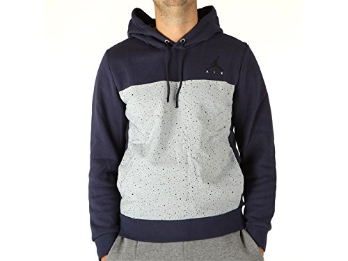 Jordan, Herren, Flight Fleece Cement Po, Polyester, Sweatshirts, blau S blau