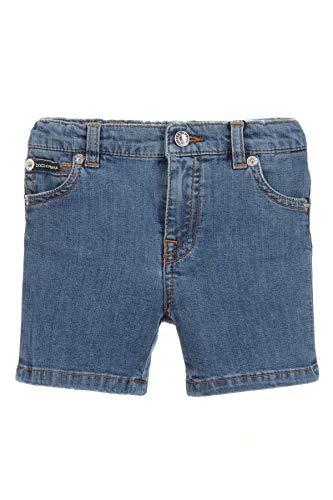 DOLCE E GABBANA Kleiner Junge L12q38ld824b1823 Blau Baumwolle Shorts