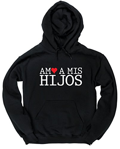 HippoWarehouse Amo A Mis Hijos jersey sudadera con capucha suéter derportiva unisex