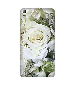 White Roses Lenovo A7000 Case