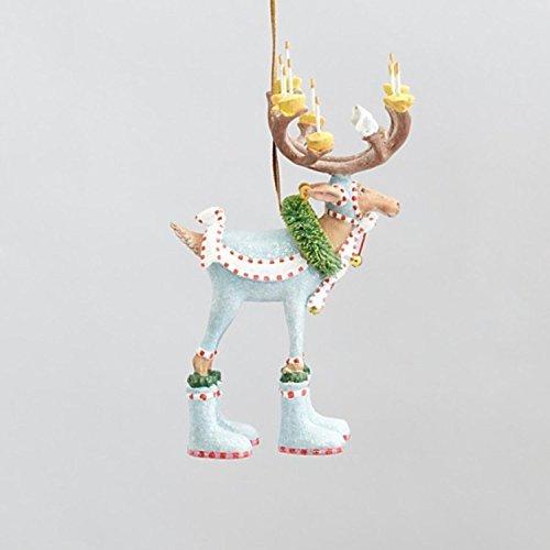 Geduld Brewster 14cm Krinkles Mini Dash Away longipennis Deko Rentier Weihnachten Ornament -