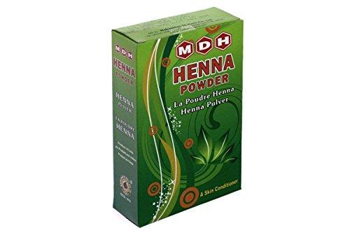 MDH - Henné Color - Henna Pulver Behandlung - Pure Lawsonia Trespe - 500 gr - Henna-behandlung