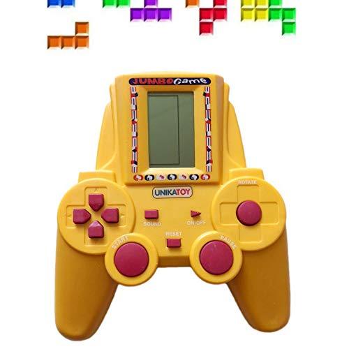 Fantiff Kinder kleines elektronisches Handspielgerät Tetris Arcade Game Fingerboards, Mini-BMX & Zubehör