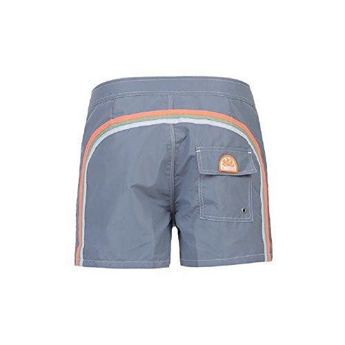 Pantaloncino Mare Uomo Vita Fissa - Medium Grey #3 - Sundek - m502bdta100 414/med/gre (31)