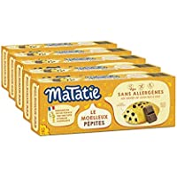 Matatie Moelleux Pépites de chocolat | Sans allergènes* & sans gluten | Lot de 5 paquets