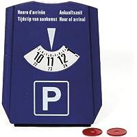 Dino 130013 Rasqueta con aparcamiento parquímetro y moneda para el carro de la compra Chips