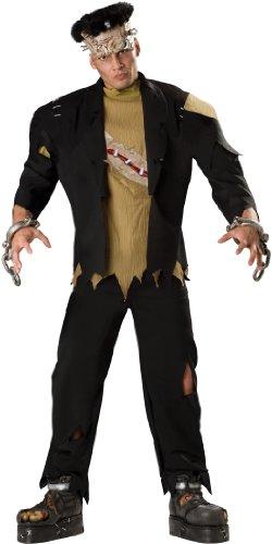 Deluxe Frankenstein Kostüm - Incharacter Kost-me IC1074-L Mens Deluxe Monster-Kost-m LARGE