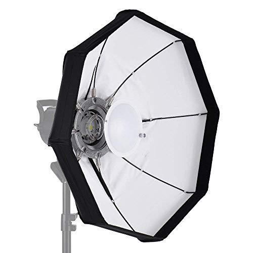 Andoer 8 60 cm weiß faltbar Beauty Dish Softbox mit Bowens Halterung für Studio Strobe Flash Light