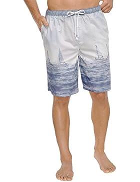 Schiesser Mix & Relax Bermuda - Parte inferior del pijama Hombre