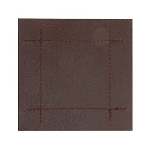 rayware-faux-leather-stitch-4-coasters-brown