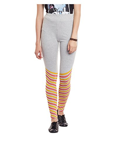 Yepme Women's Grey Cotton Leggings - YPWLGGN5131_M  available at amazon for Rs.174