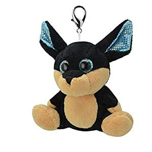 ORBYS Wild Planet 10cm Luxury Handmade Chihuahua Soft Toy. Keyring.