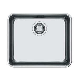 Franke BMG MU PLUS Lavabo sobre-encimera Rectangular Acero inoxidable – Fregadero (Lavabo sobre-encimera, Rectangular…