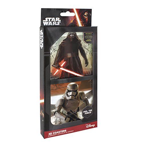 NO.1 COFFEE & TEA PRODUCTS JOY TOY 22860 STAR WARS 3D COASTERS IN GIFT WRAP BEST BUY REVIEWS UK