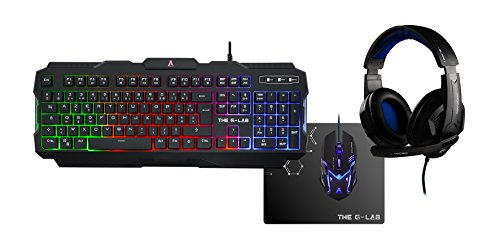 The G-Lab Combo-Argon/FR Cuffie per PC Gaming