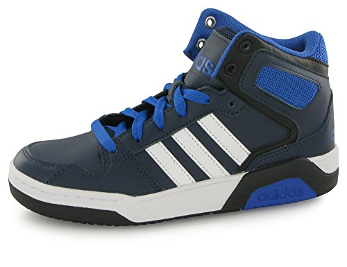 adidas Jungen BB9TIS K Fitnessschuhe Maruni/Ftwbla/Blau, 40 EU