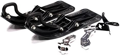 Integy RC Model Hop-ups T6706SILVER Front Sled AttachHommes t Set for HPI Savage Flux, Savage-X & Savage XL (for RWD) | Grand Assortiment