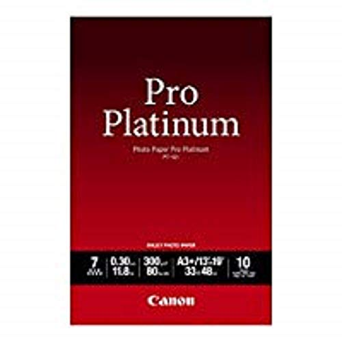 Canon 2768B018 PT-101 Pro Platinum Photopaper A3+ 10 Blatt Pack -