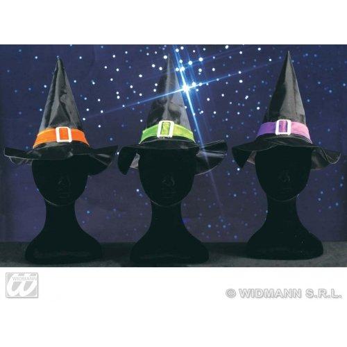 WIDMANN Hexe für Kinder, mit Band und Schnalle, Halloween-Hüte und Kopfbedeckung, für Kostüme (Ideen Band Halloween Kostüme)
