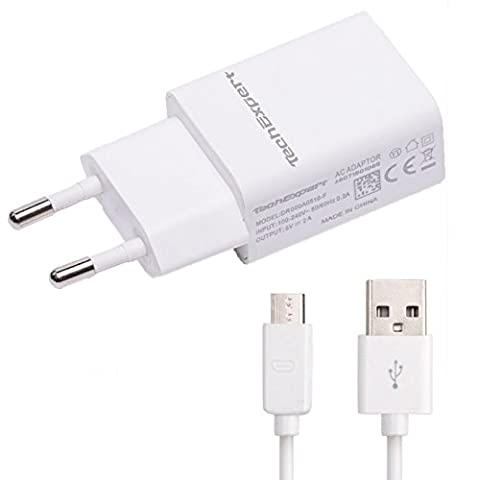 Kit chargeur blanc pour ASUS ZenPad / Nexus 7 9 10 / MeMO Pad FHD 10 / Fonepad 7 8 / Padfone 2 / Transformer Book T100 / Transformer Pad TF103C 5V 2000mA