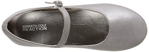 Kenneth Cole Reaction Last Tap Rund Synthetik Mary Janes Pewter