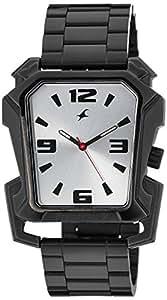 Fastrack Men Metal Analog Silver Watch - 3131NM01
