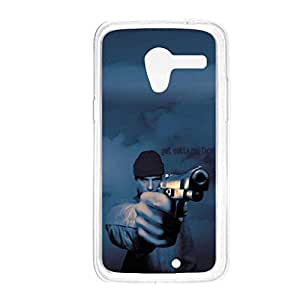 a AND b Designer Printed Mobile Back Cover / Back Case For Motorola Moto X (Moto_X_994)