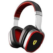 Ferrari by Logic3 Scuderia R300 - Auriculares (Binaurale, Negro, Diadema, Alámbrico,