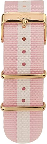Sailor Damen Herren Nylon Armband Sun rosa-weiß, BSL101-2015-20