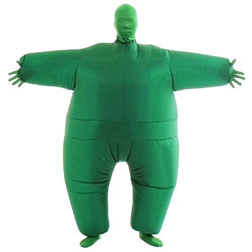VOCOO Herren halloween reizende lustige aufblasbare kostüm-erwachsen-größe ganzkörperanzug 14 * 3 * 12 lila