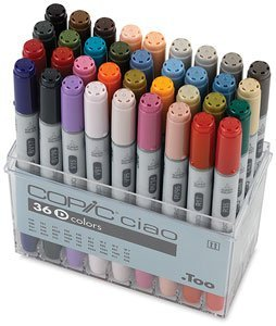 Copic Ciao Marker RV21 Light Pink - Copic Ciao Marker Light