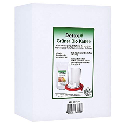 Grüner Bio Kaffee 300g Heimset inkl. Irrigator-Set